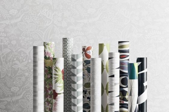 wallpapers by scandinavien designers